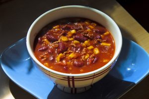 A bowl of Chili